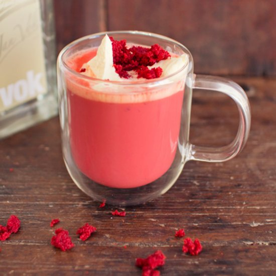 Dairy Free Red Velvet Frappuccino