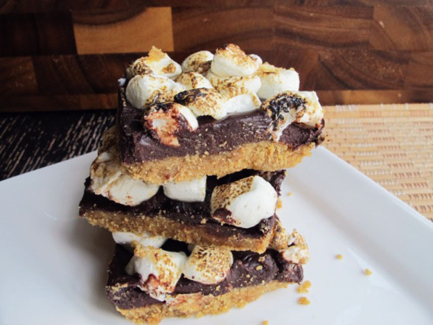 No Bake Smore Bars