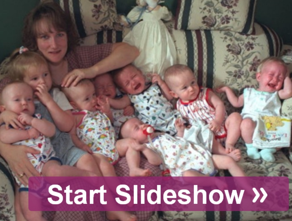 Worlds First Surviving Septuplets Fertility Treatments Miracle