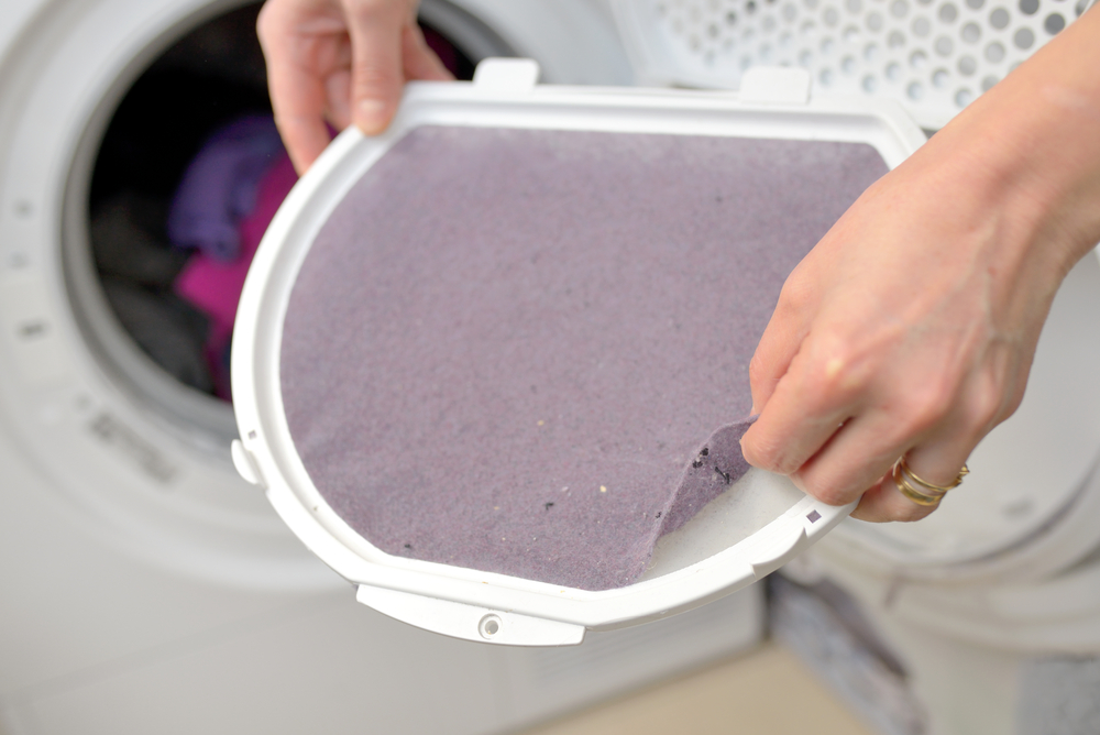 Remove Gum From Lint Screen