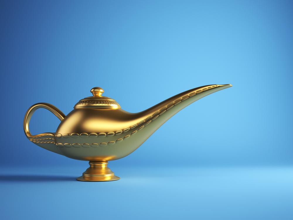 Polish Brass & Gold Lamps