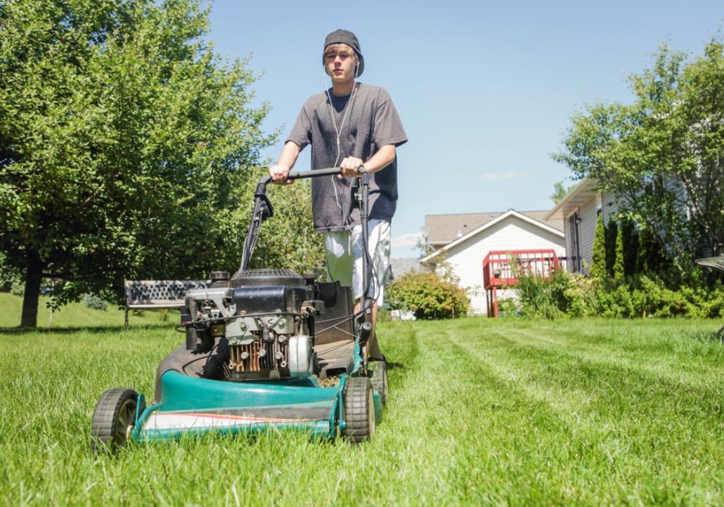 Maintain Lawnmower Blades
