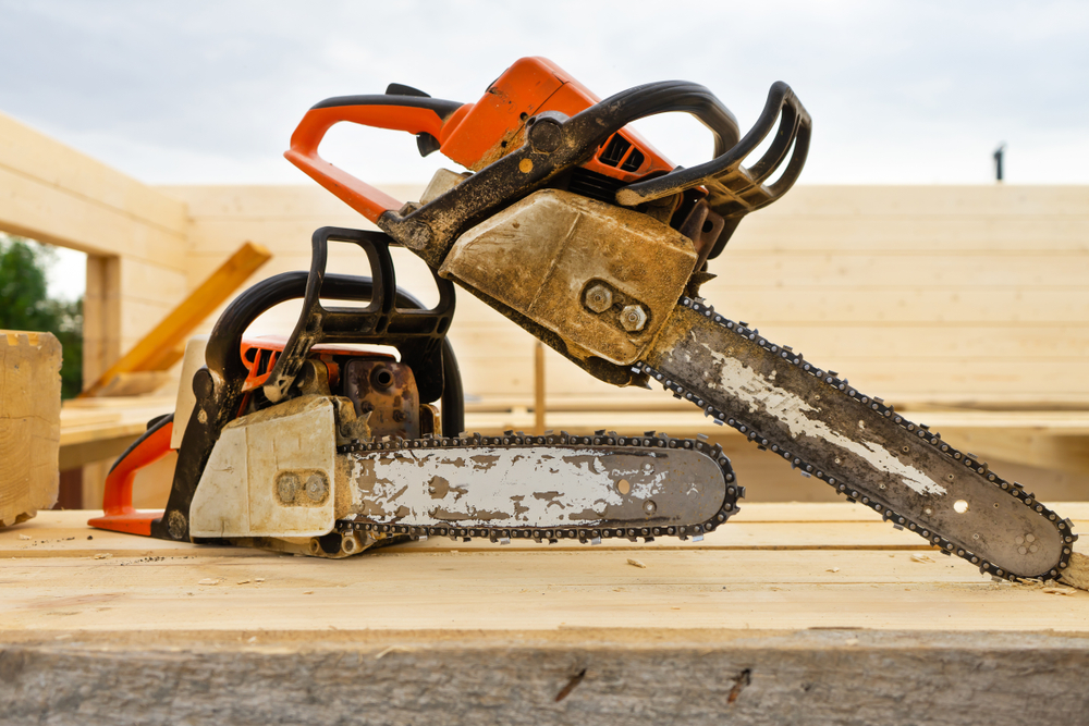 Clean Old Saws