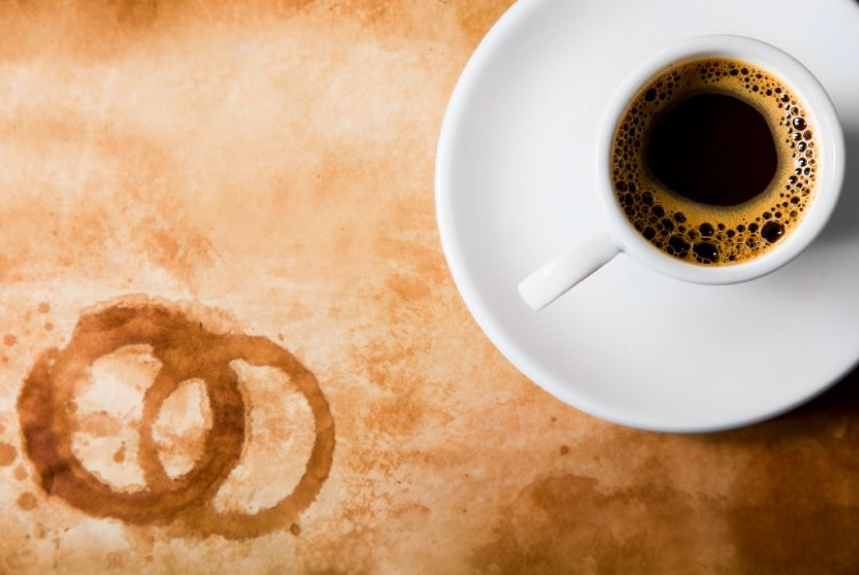 Clean Coffee & Tea Stains