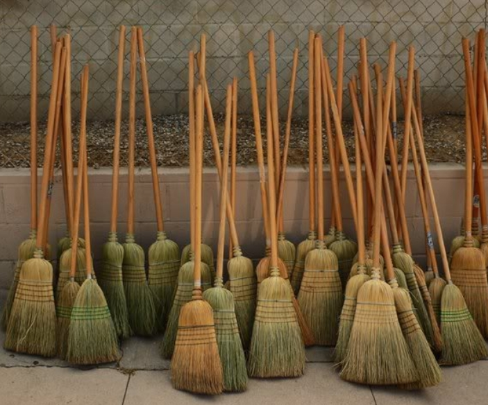Prevent Splinters On Brooms & Rakes