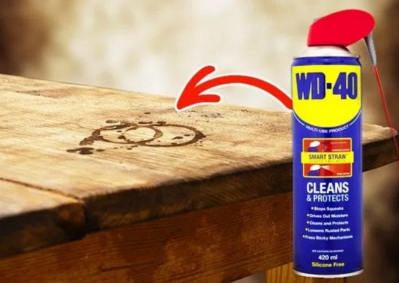 Cleaning Stained Wood