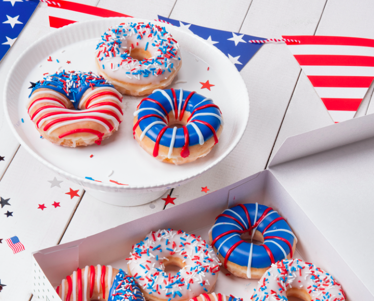 Krispy Kreme Gets Patriotic
