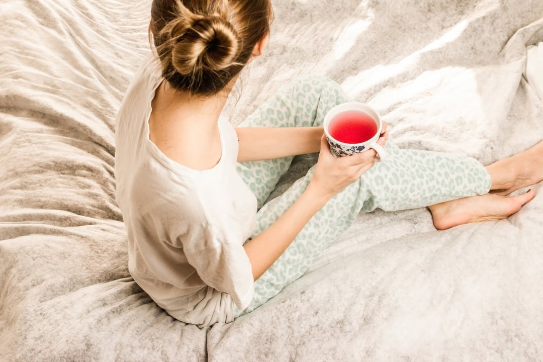 Relaxing Tea Before Bedtime