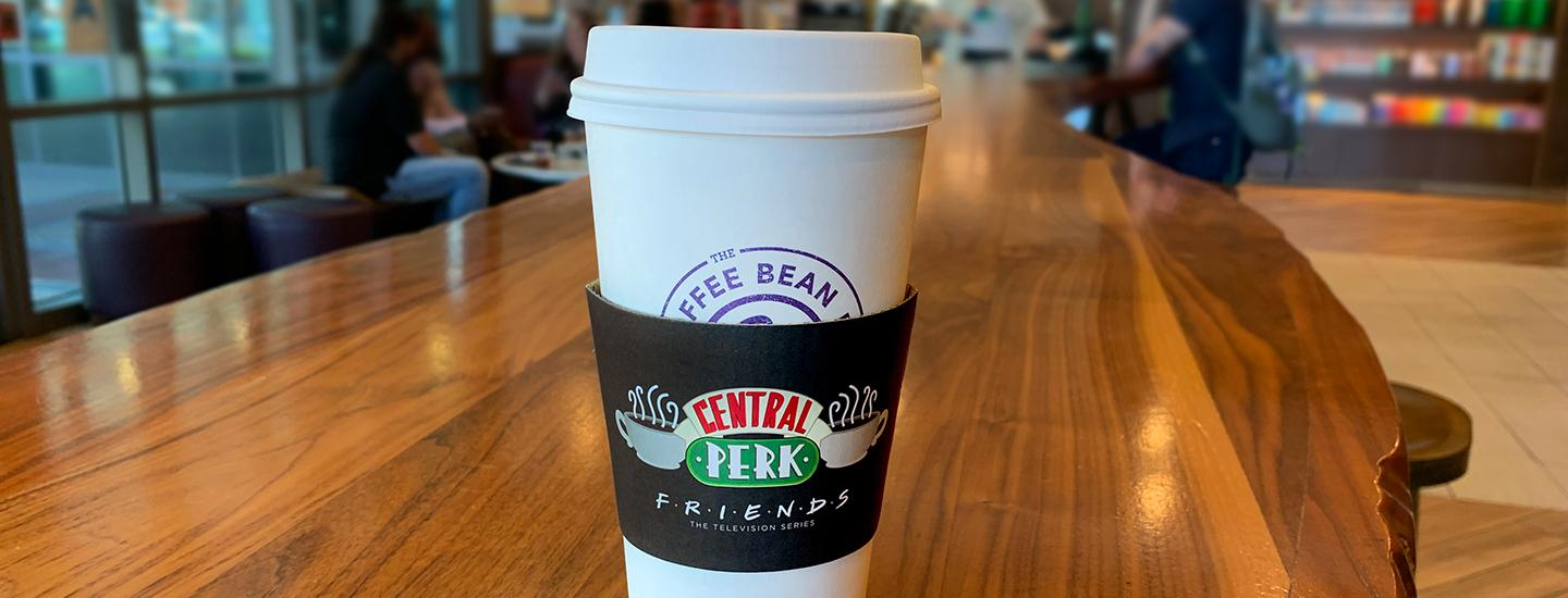 Coffee Bean & Tea Leaf Is Selling Central Perk Coffee