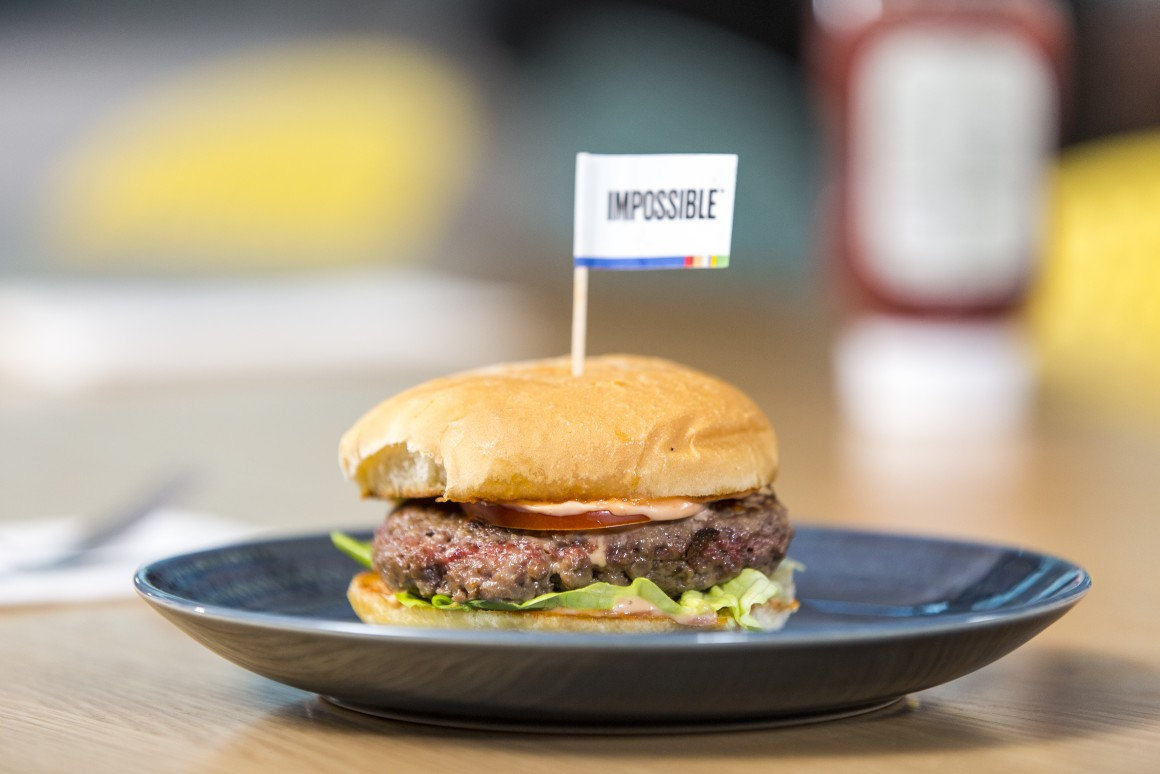 The Impossible Burger Is Coming To Supermarkets