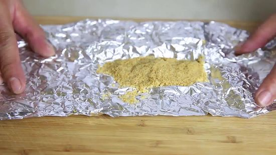 Hard Brown Sugar In Foil