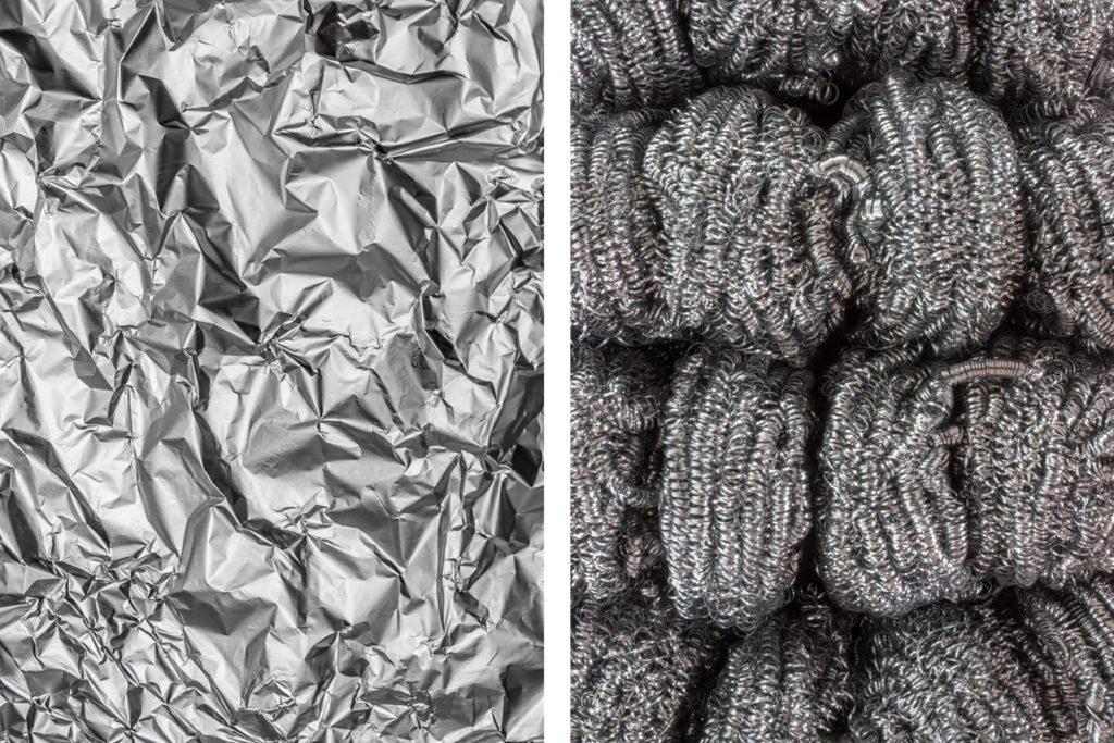 Aluminum Foil And Steel Wool