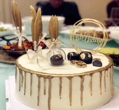 Fancy Decorated Cake