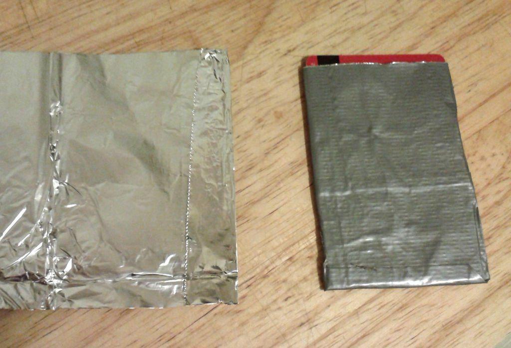 Foil RFID Card Pouches