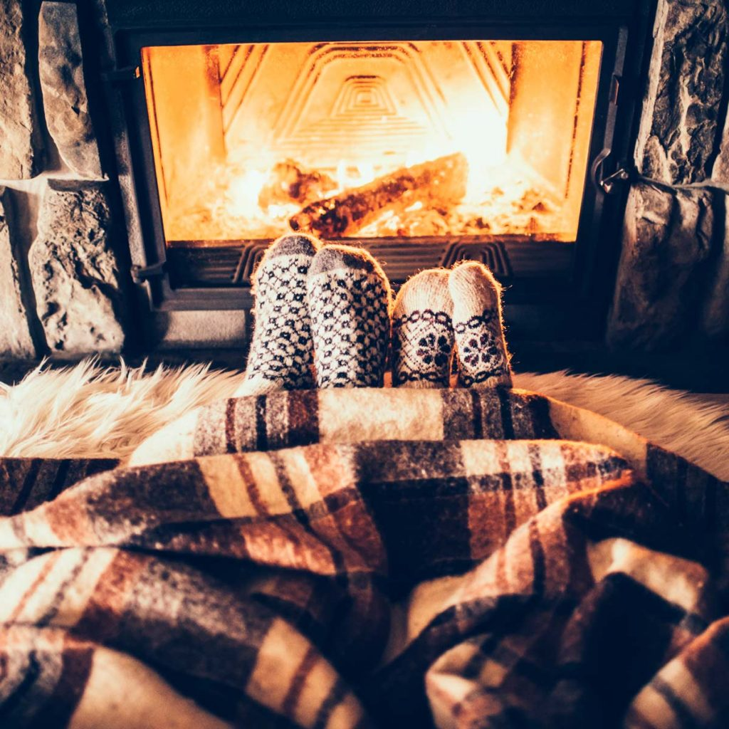 Warm Feet By The Fire