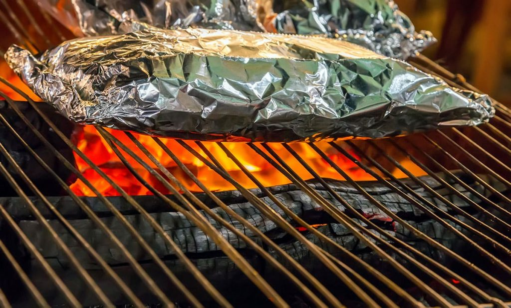 Foil Packet On The Grill