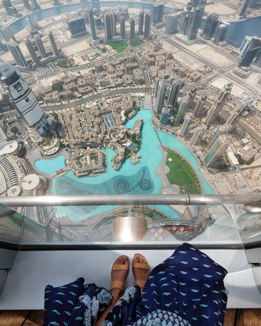 View From Top Of Burj Khalifa