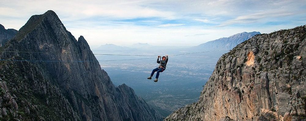 Jebel Jais Mountains Zipline