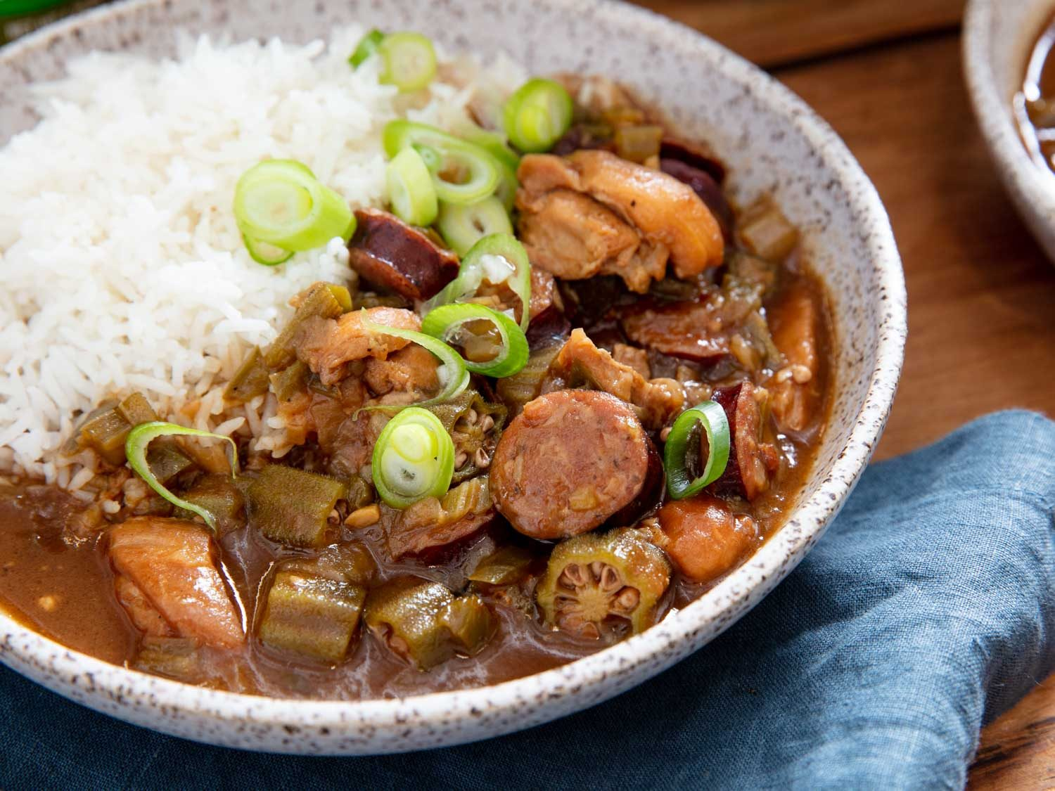 Gumbo With Andouille