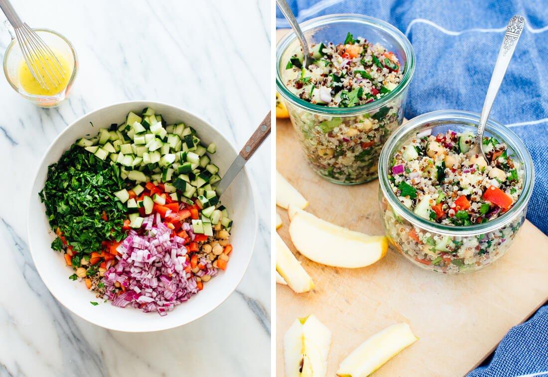 Whole Grain Quinoa Salad