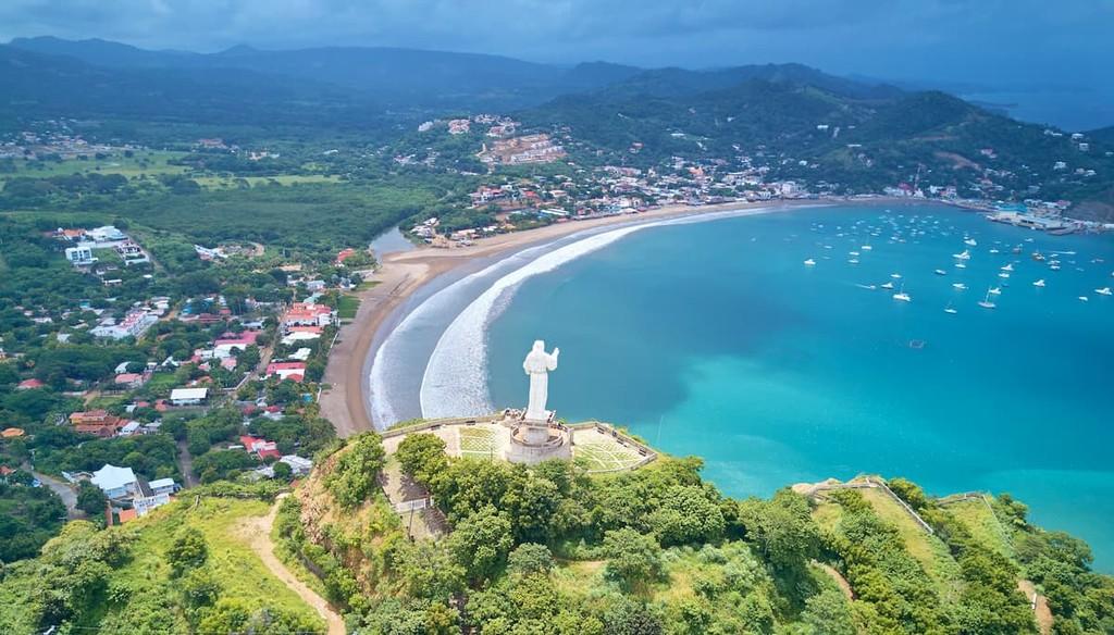 Coastline In Nicaragua