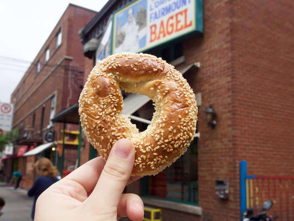 Bagels In Montreal, Canada